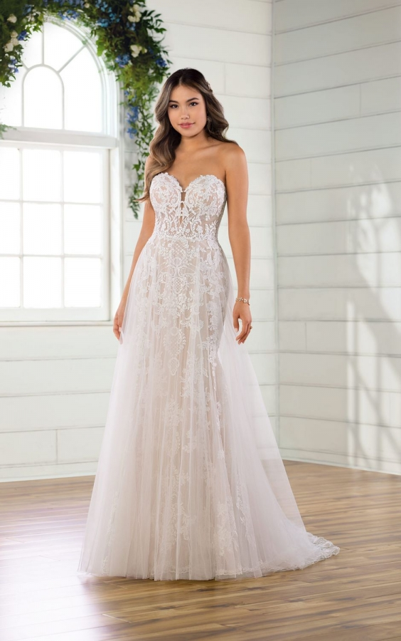 Lace Gown 119155