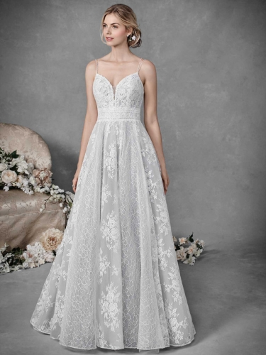 Lace Gown 119281