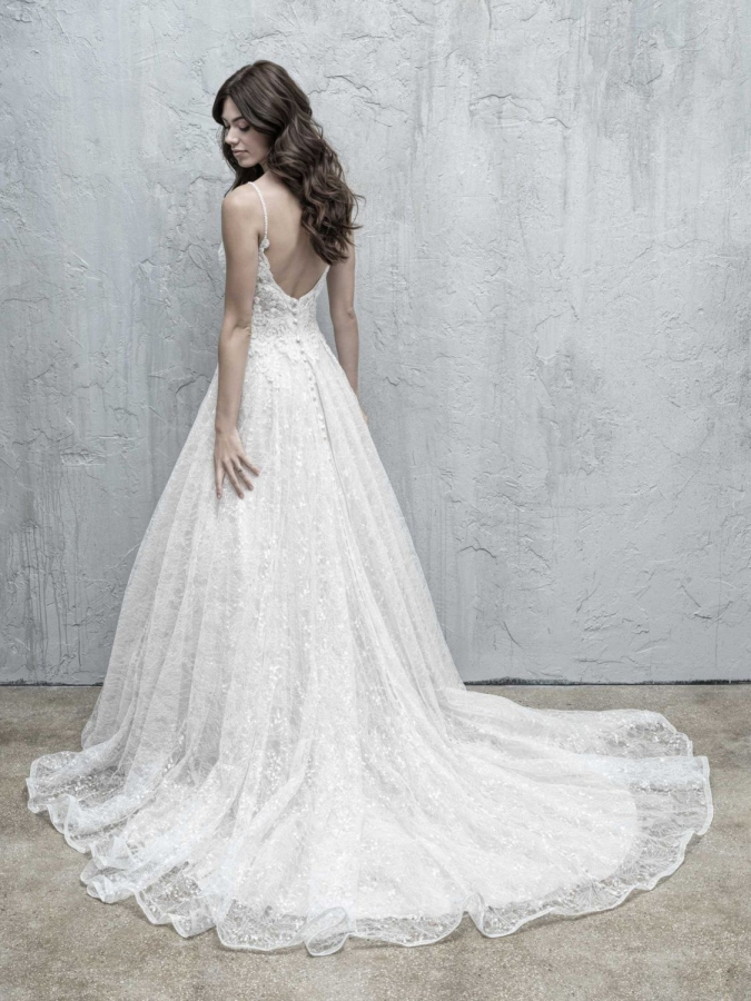 Lace Gown 119553 Back