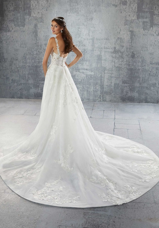 Lace Gown 119637 Back