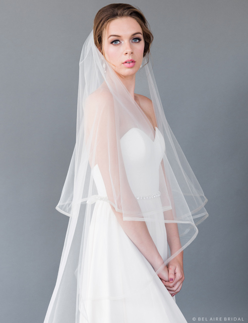 Horse Hair Fingertip Veil 117748