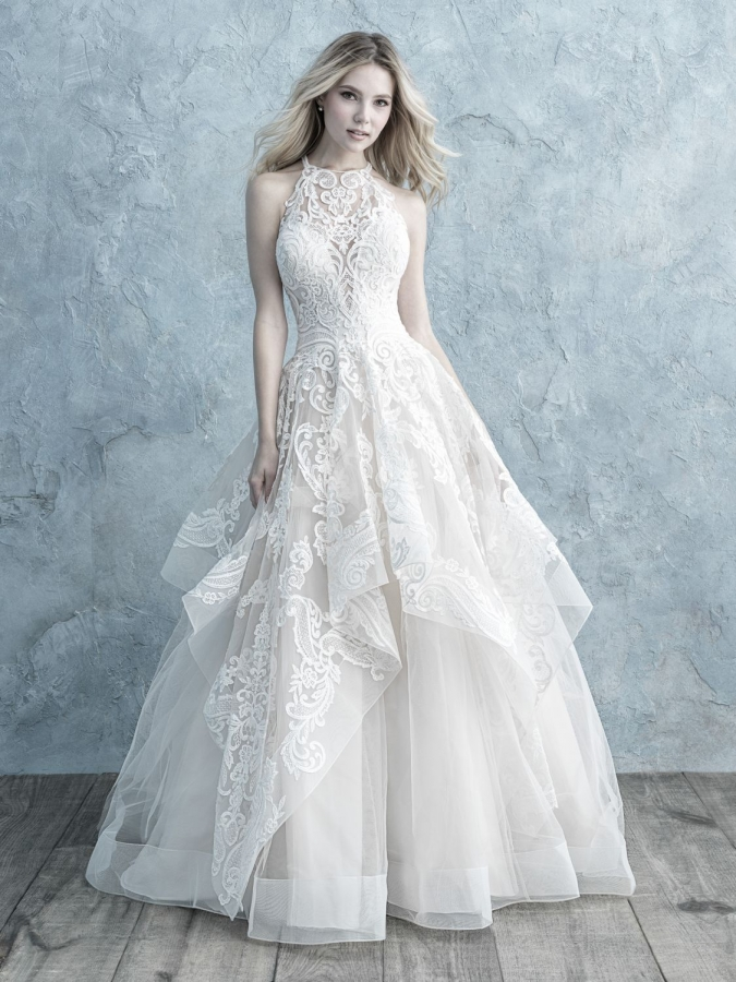 Lace Gown 119132