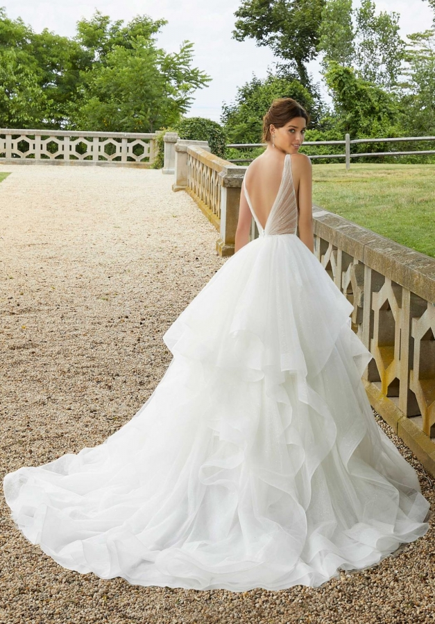 Tulle Gown 119531 Back