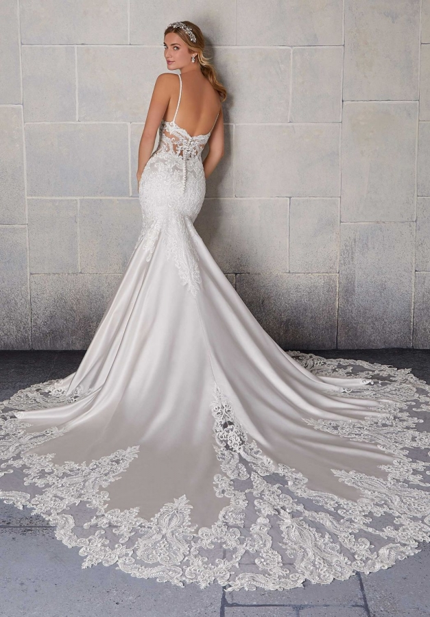 Lace Gown 119565 Back
