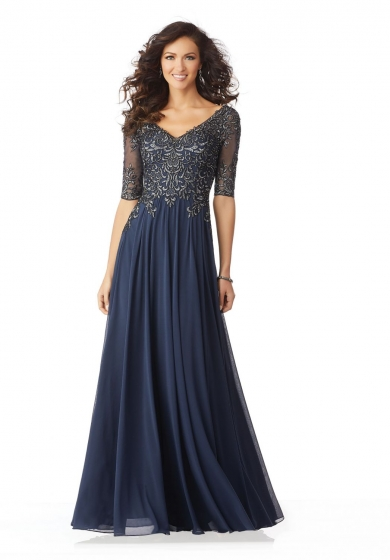 Embroidered Gown 118535