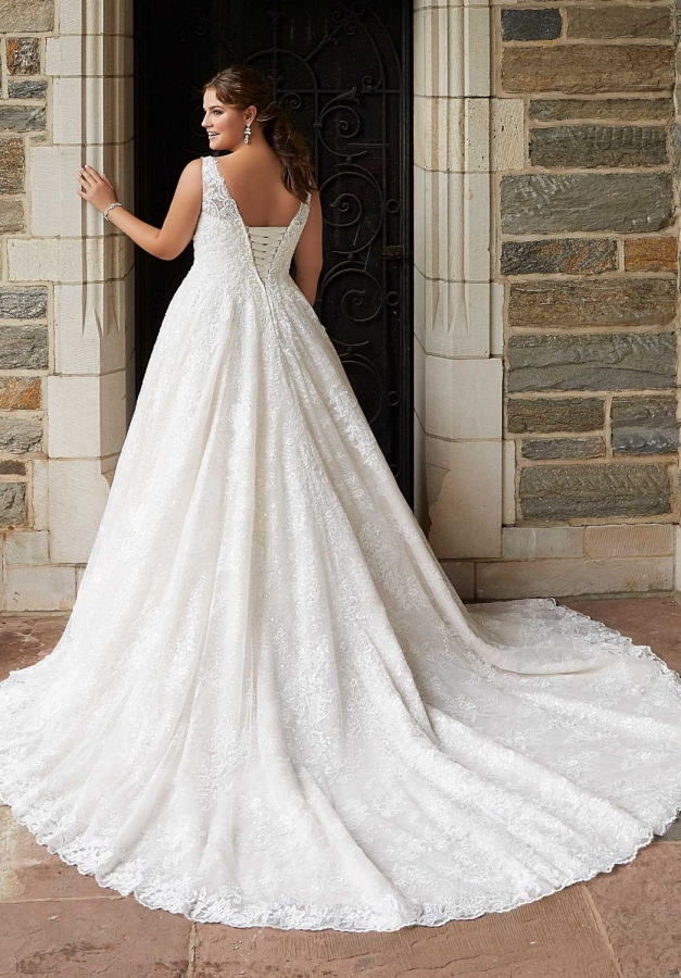 Lace Gown 119566 Back