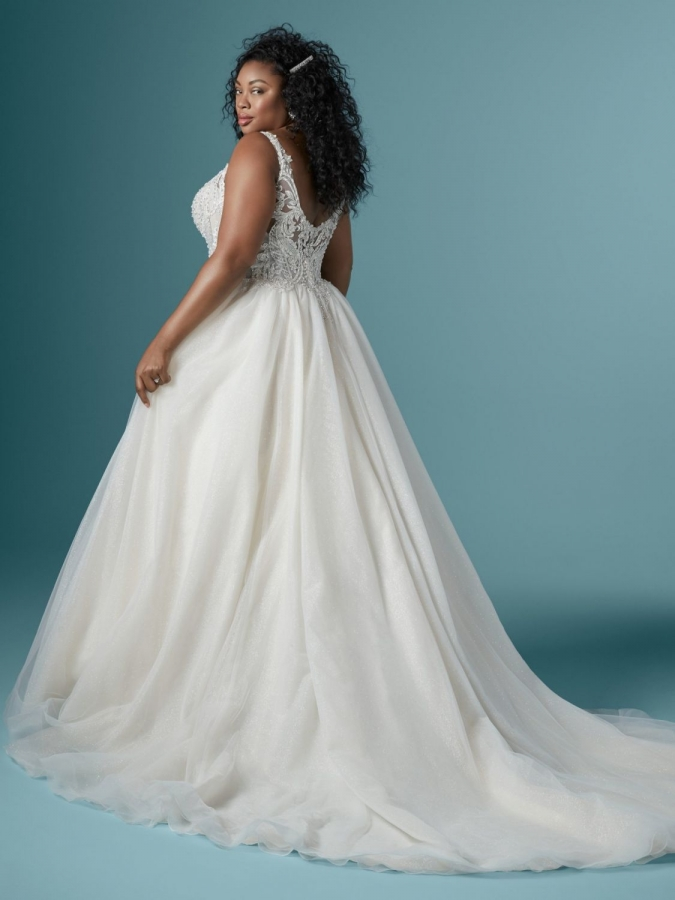 Tulle Gown 119630 Back