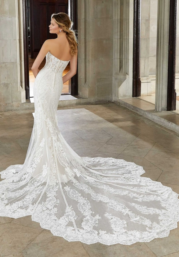 Lace Gown 119564 Back