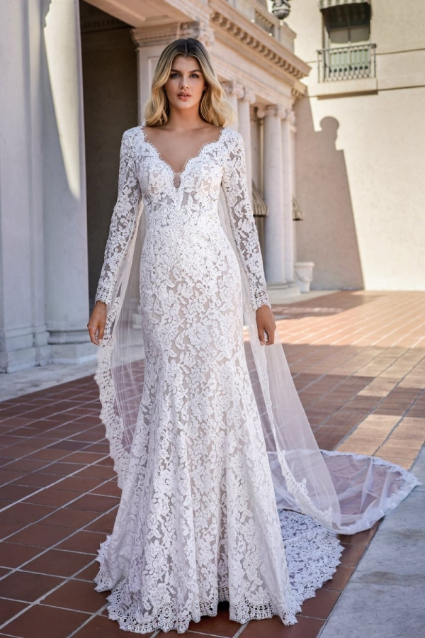 Lace Gown 119622