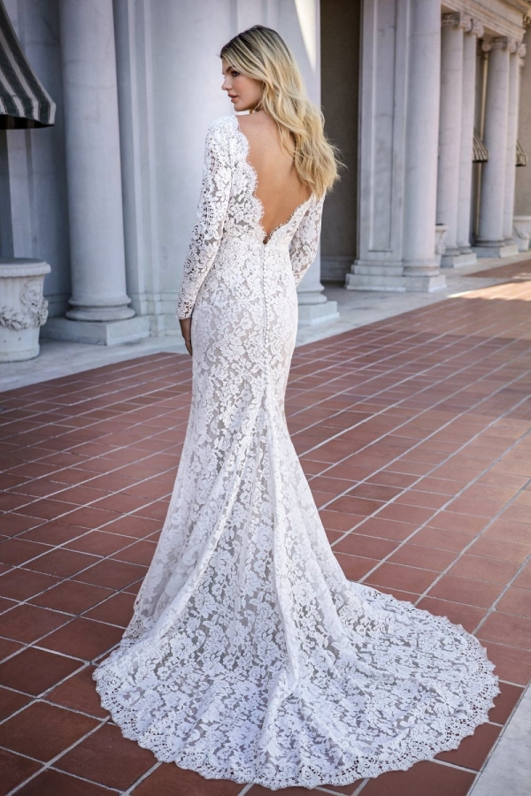 Lace Gown 119622 Back