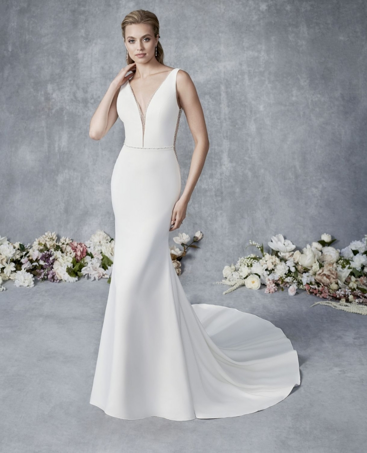 Satin Gown 119507